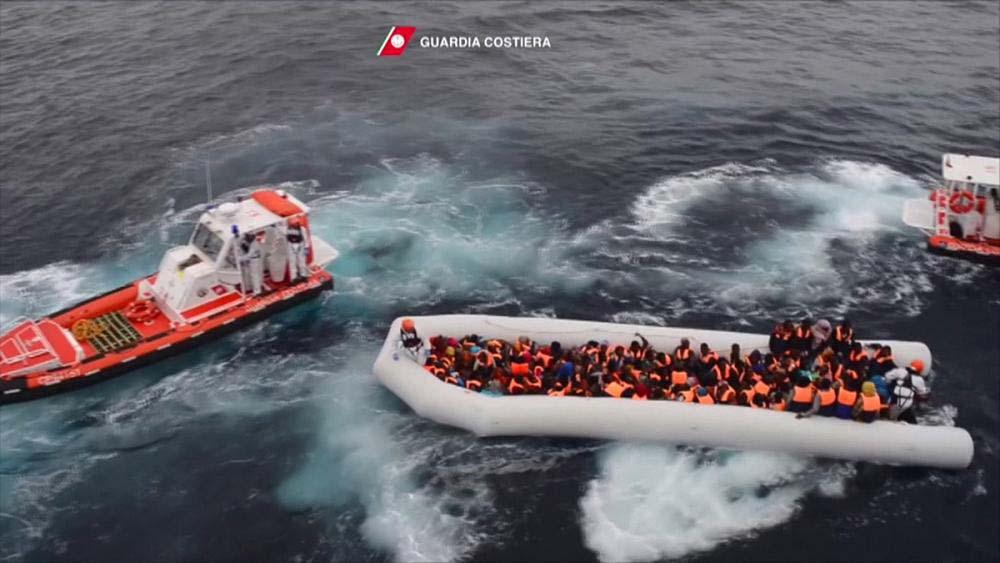 Migrant boats