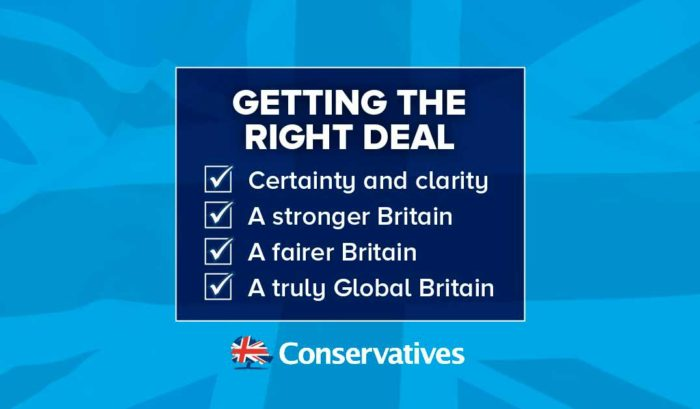 UK Conservatives BREXIT DEAL
