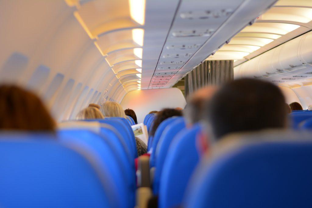 passengers airplane