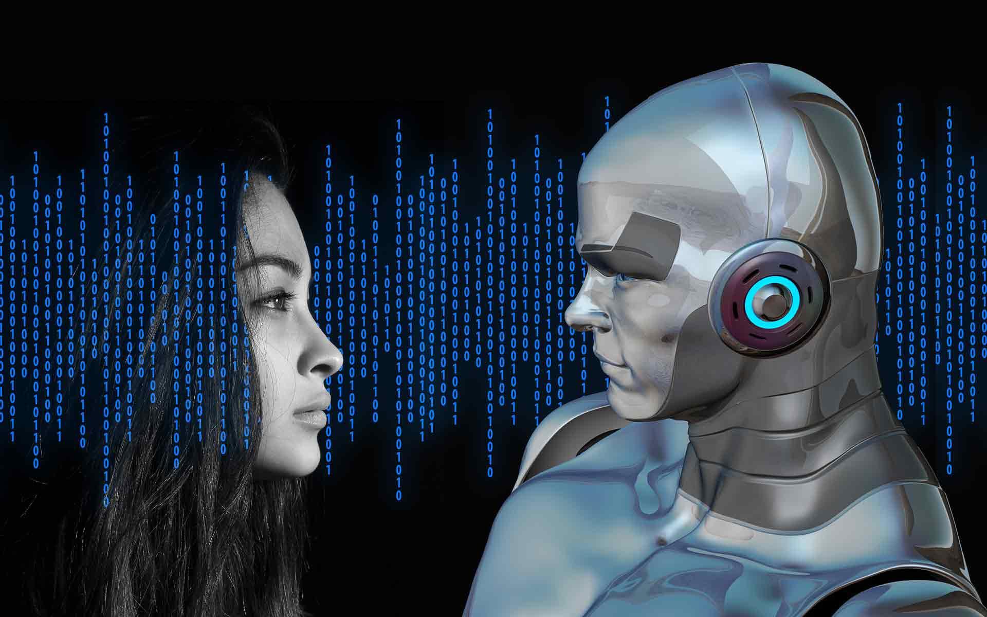 Artificial Intelligence AI robots