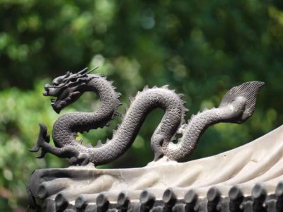 China dragon Tourism monument