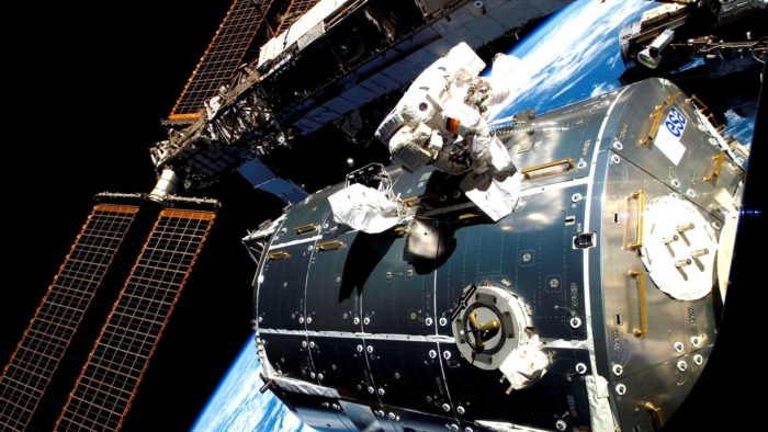 Columbus spacewalk ESA European Space Agency