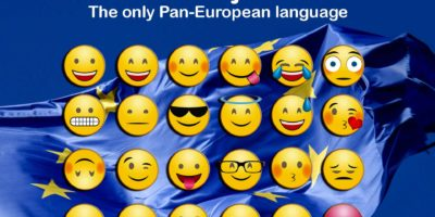 Emojis The only Pan-European language