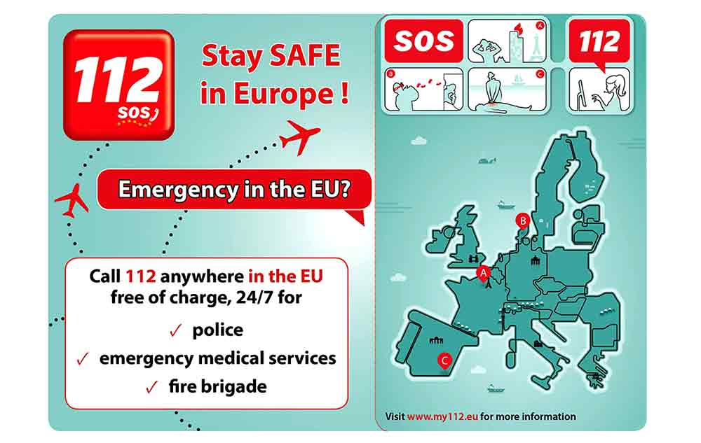 112 call number in Europe