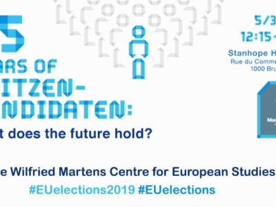 25 years of Spitzenkandidaten: what does the future hold? The Wilfried Martens Centre for European Studies