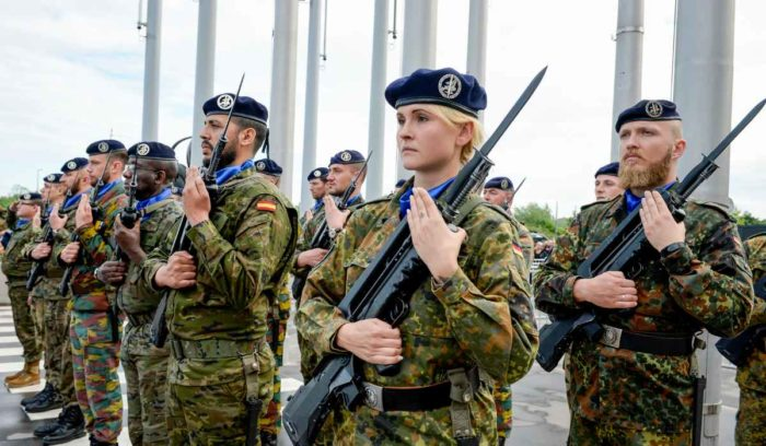 European Army EU Security Defence Eurocorps