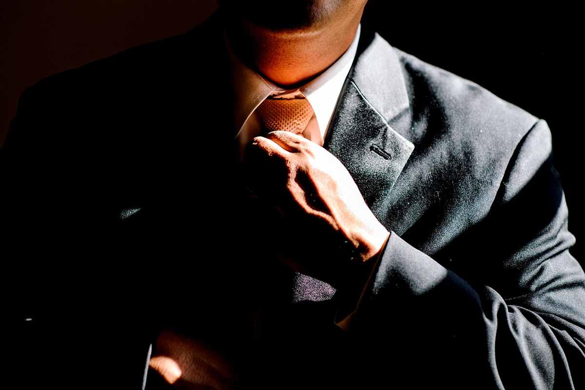 Whistleblower Business Man tie