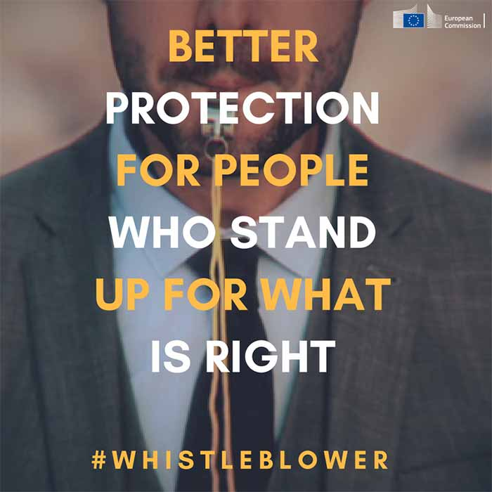 Whistleblowers EU Commission