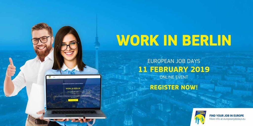 Work In Berlin Event By European Employment Services