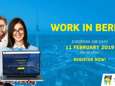 Work in Berlin Event by European Employment Services - European Job Days