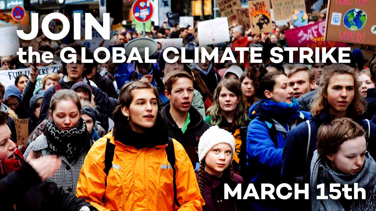 Fridays for Future Deutschland Global Strike For Climate Climate Global Strike for Students - 15th March 2019