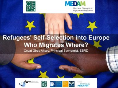 MIGRATIONRefugees' Self-Selection into Europe Who Migrates Where