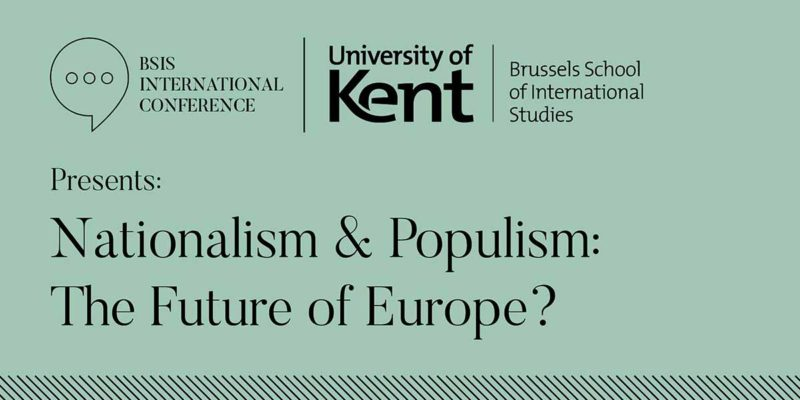Nationalism & Populism The Future of Europe