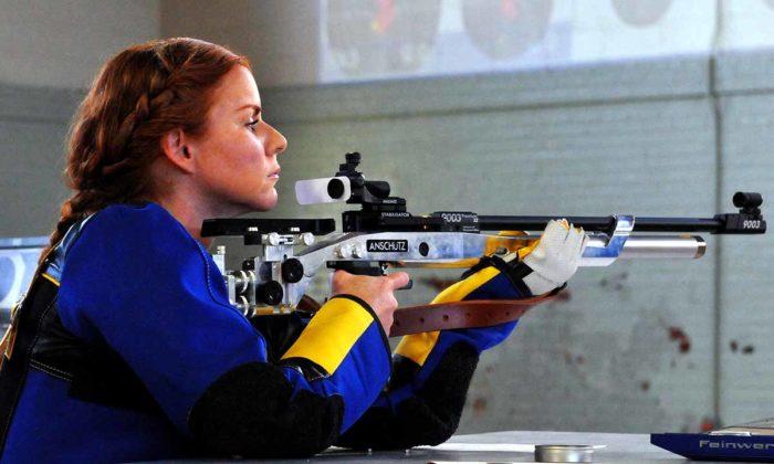 Shooter Sport Shooting Gun Rifle