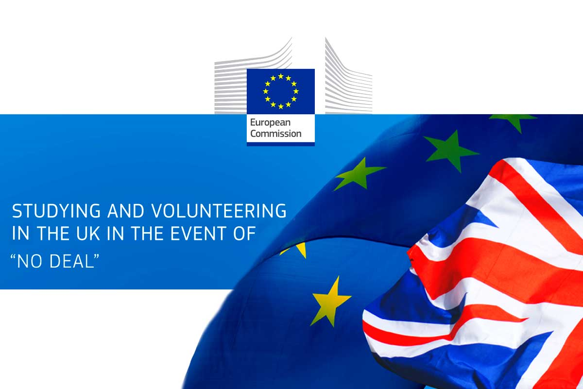 Studying and Volunteering in UK EU no-Deal