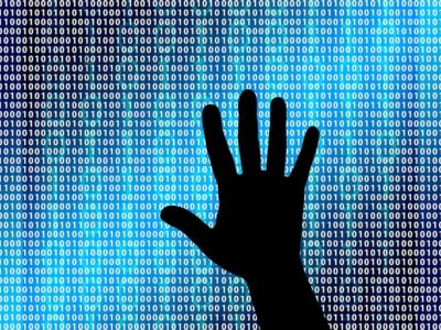 cyber hand digits internet code