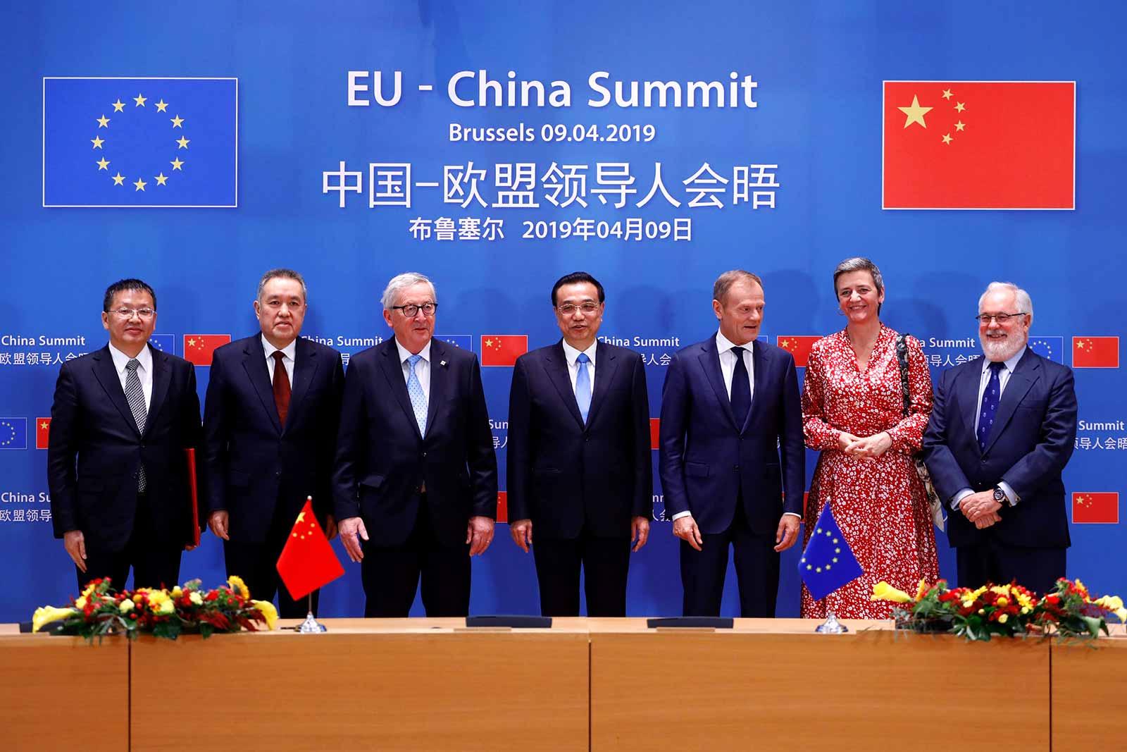 Resultado de imagen para eu china summit 2019