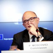 Pierre Moscovici European commissioner for economic and financial affairs