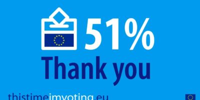 51% turnout VOTERS for European Elections 2019