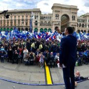 Far-right populists join Matteo Salvini