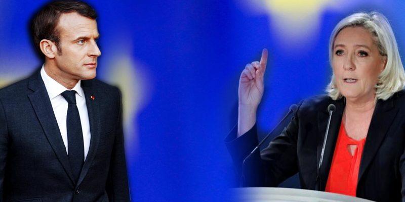 Marine Le Pen vs Emmanuel Macron