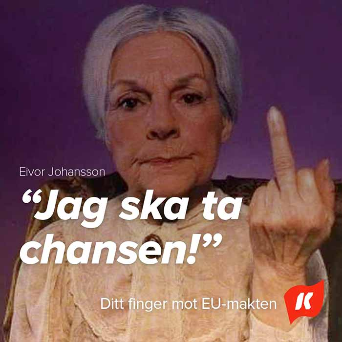 Swedish Communist Party Elvor Johansson