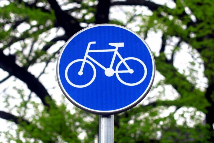 Cycle Path Cycling Bicycle Path Cyclists