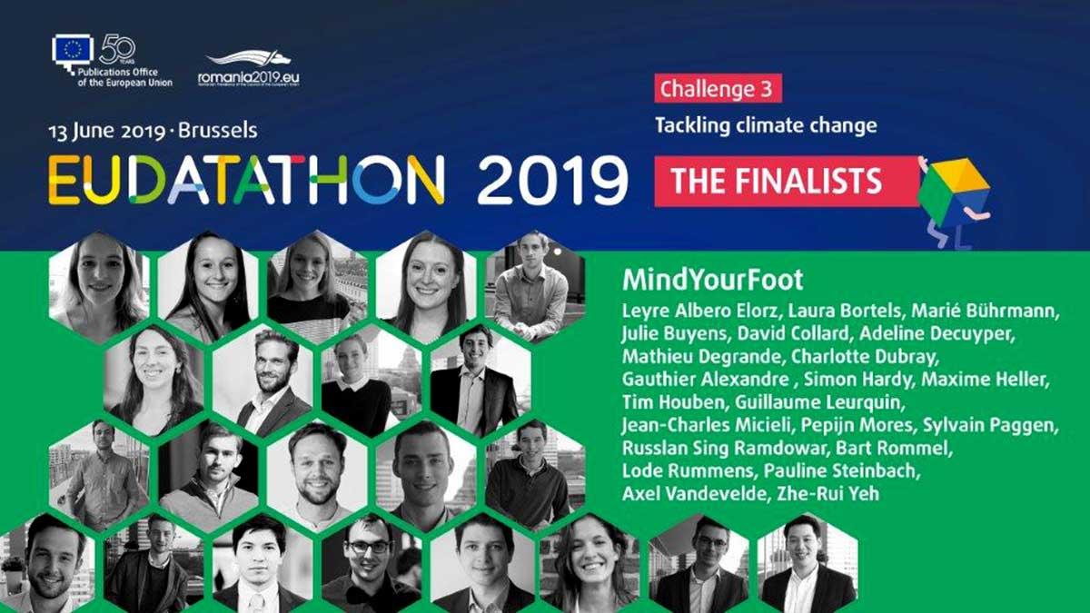 EU Datathon 2019 the finalists