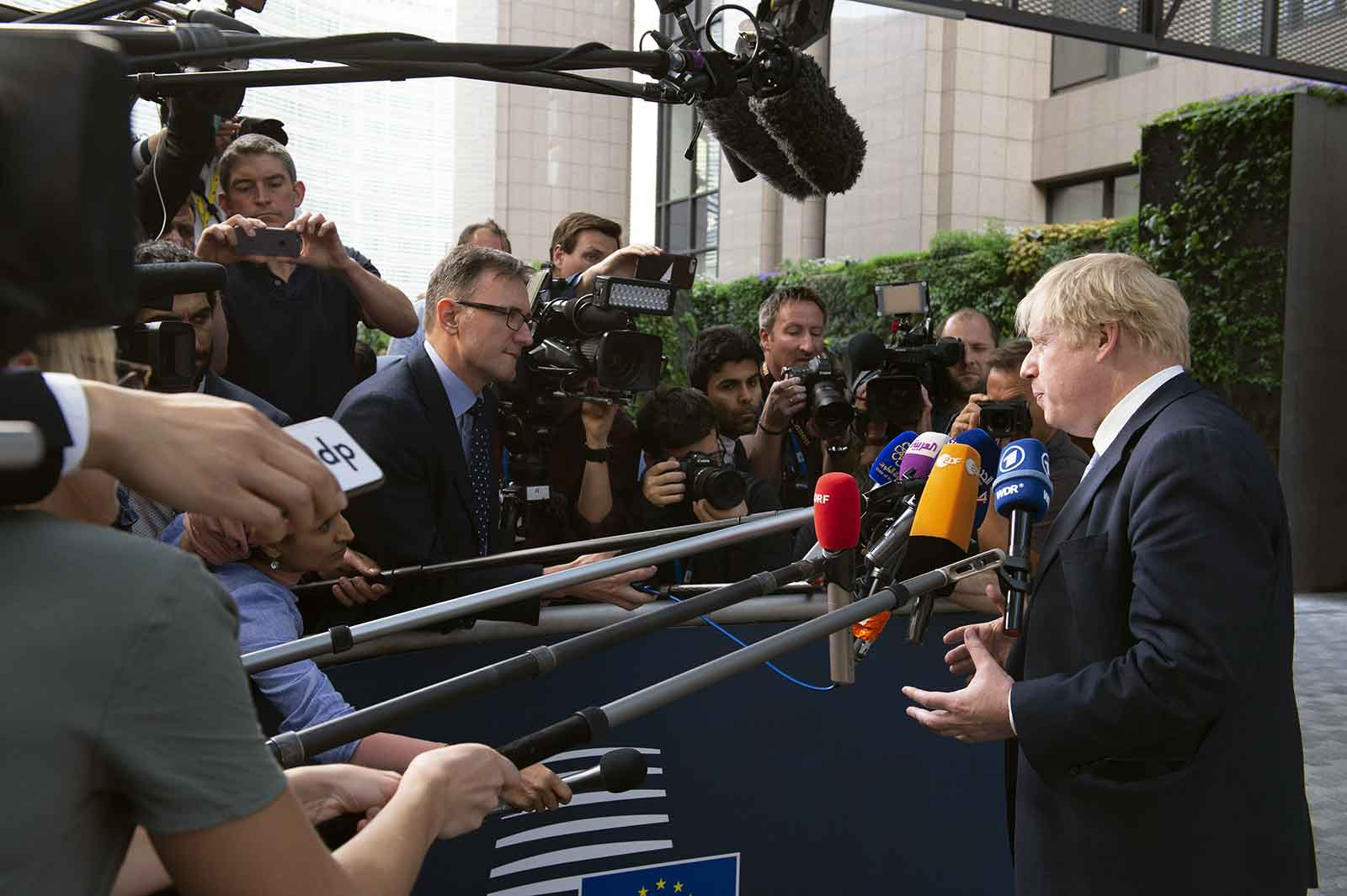 Boris Johnson Brexit Deal in Brussels