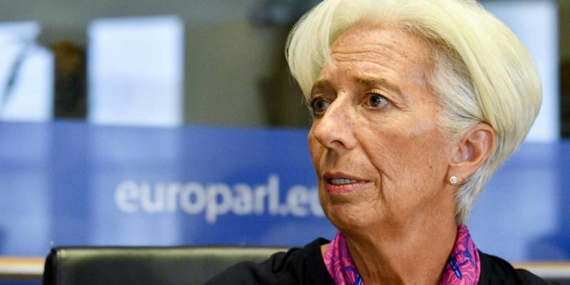 Christine Lagarde ECB