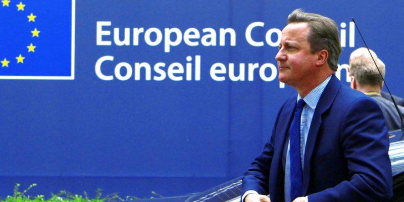 David Cameron UK Prime Minister 2016 28062016