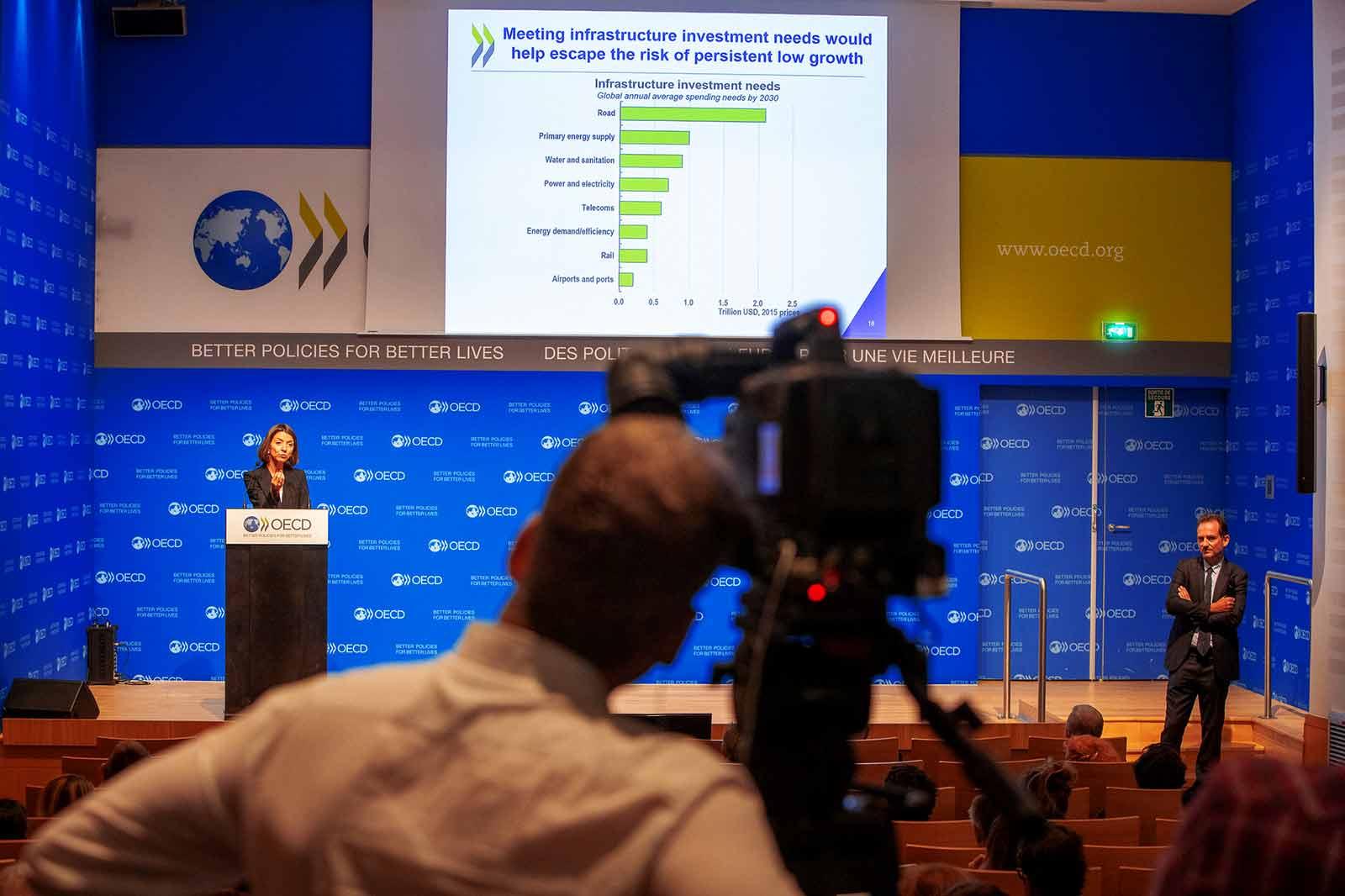 ECD Chief Economist Laurence Boone OECD