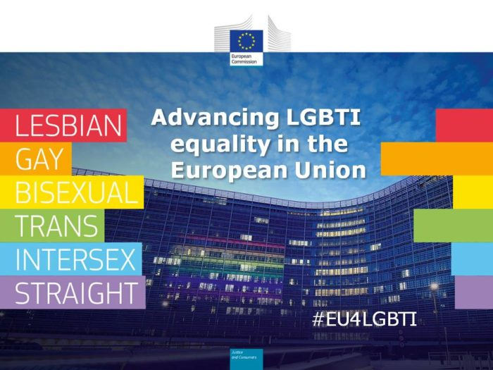 Advancing LGBTI equality in the European Union