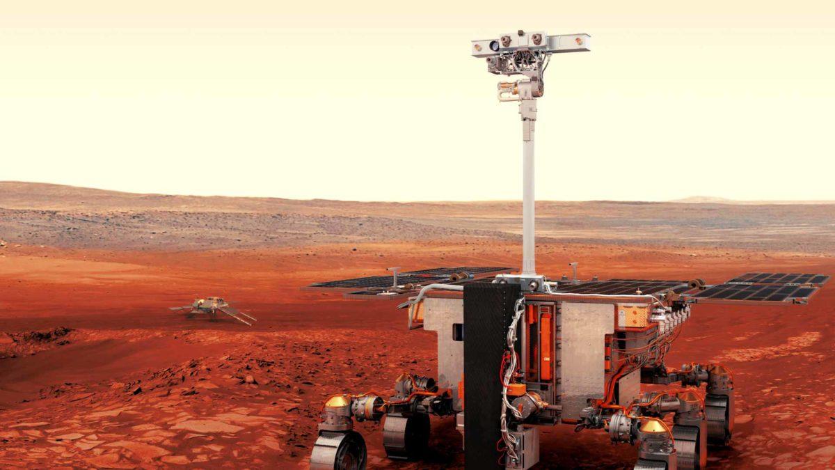 EXOMARS MISSION - Mars 2020 ExoMars orbiter and rover highlight mob