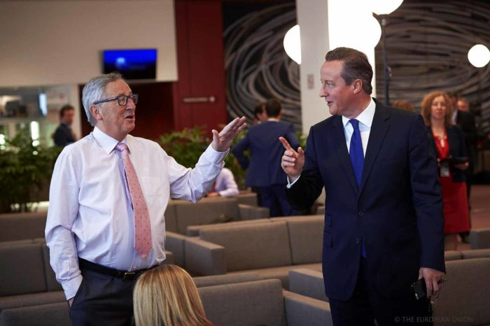 Jean-Claude Juncker David Cameron