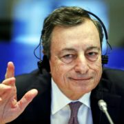 Mario Draghi, ECB President at the EU Parliament