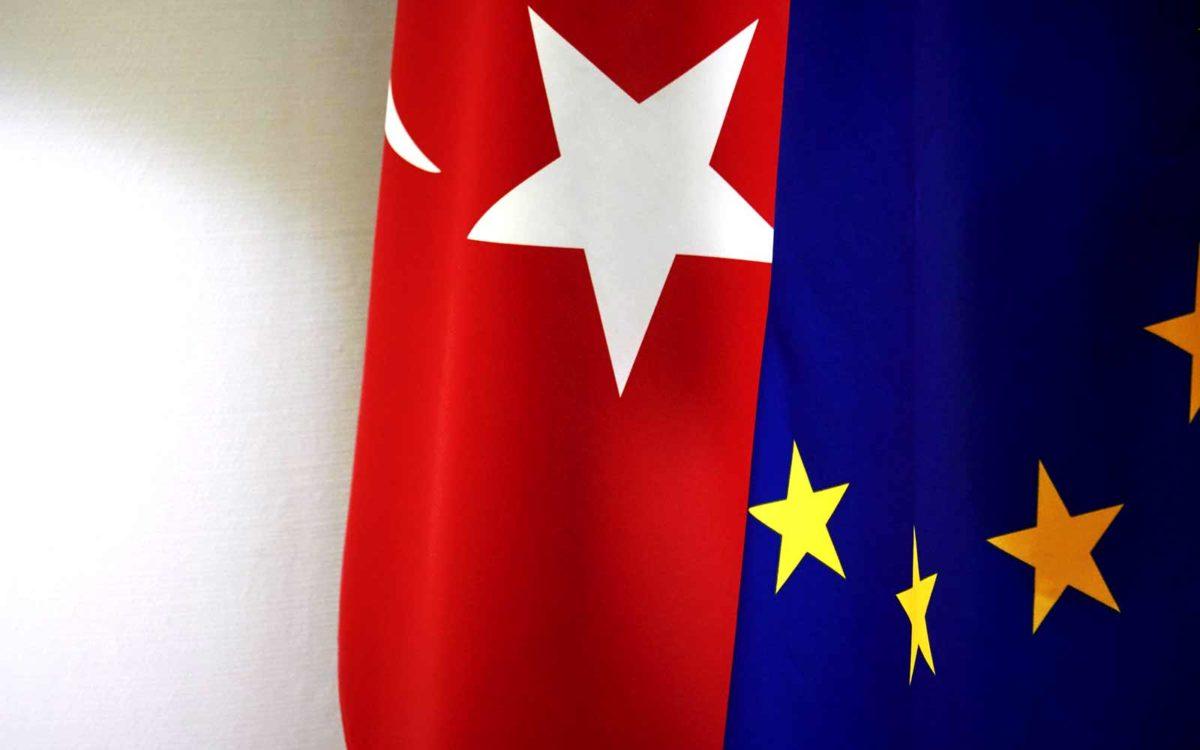 Turkey EU flag