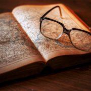 knowledge books glasses reading