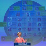 the new EU Commissioners by Ursula von der Leyen