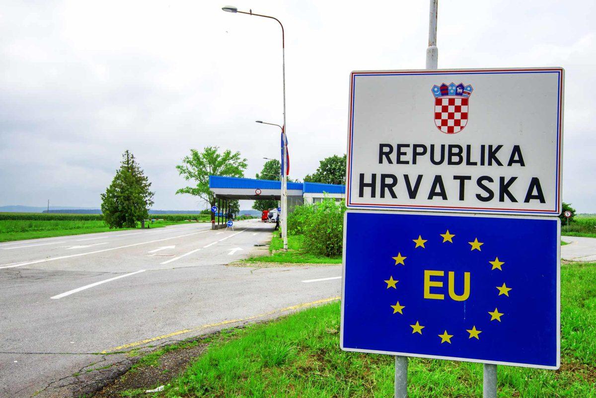 Croatia Schengen borders