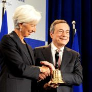 ECB Presidents Mario Draghi - Christine Lagarde