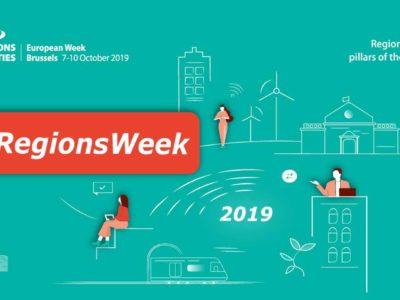 European Week of Regions and Cities 2019 #EURegionsWeek