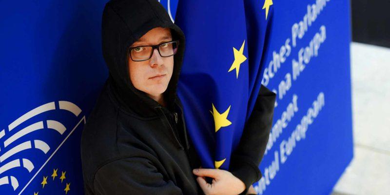 Nico Semsrott GERMAN MEP at European Parliament
