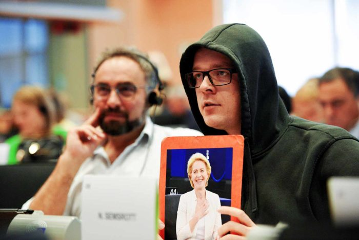 Nico Semsrott MEP at European Parliament