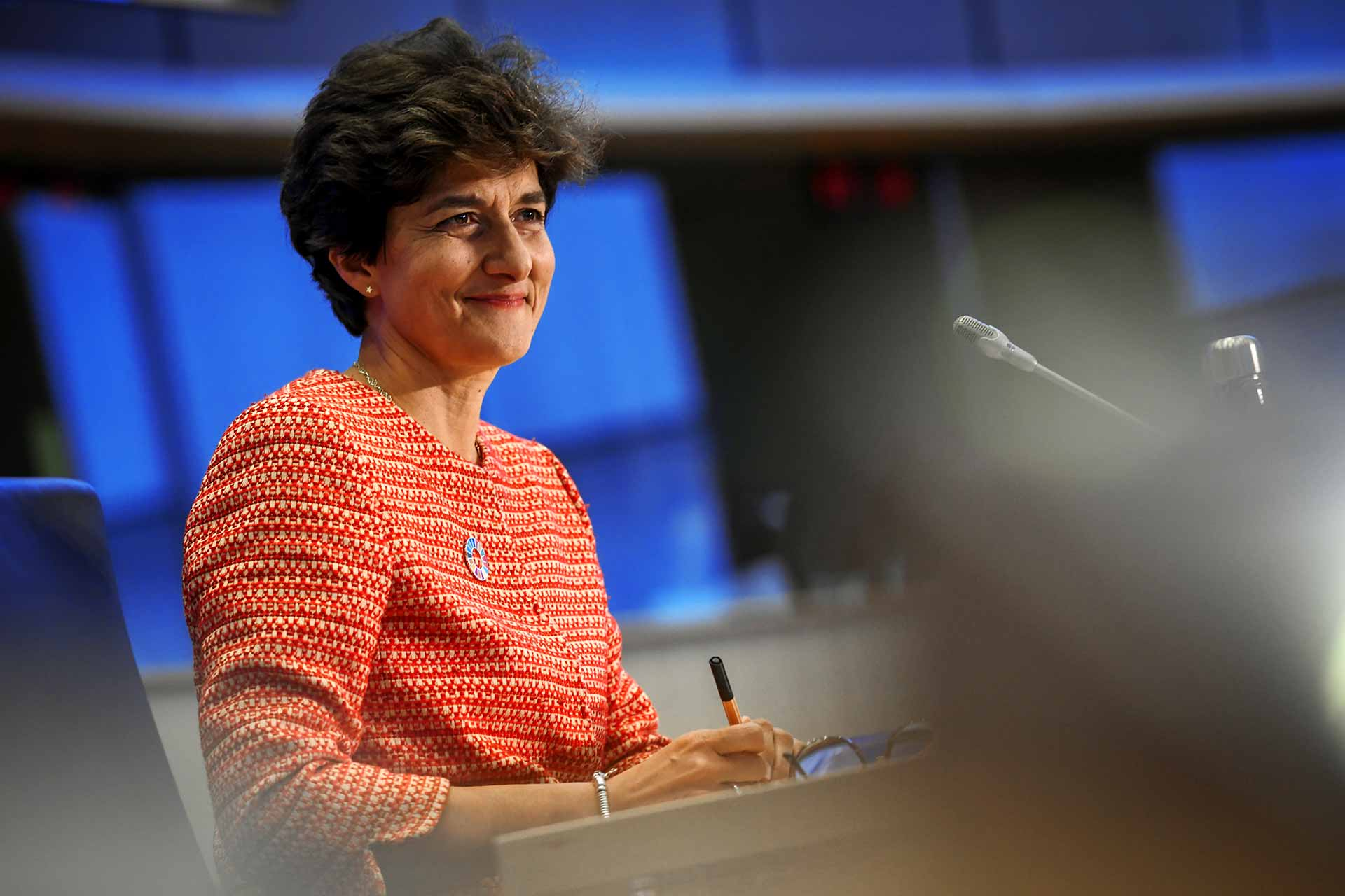 Sylvie Goulard Commissioner for Internal market
