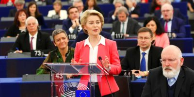 President Ursula von der Leyen with New Commissioners