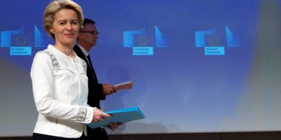 First College meeting Ursula Von Der Leyen