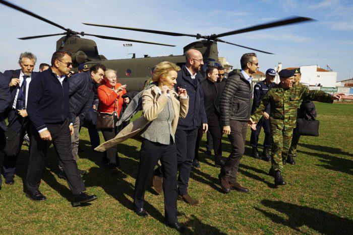EU officials visit Greek-Turkish borders