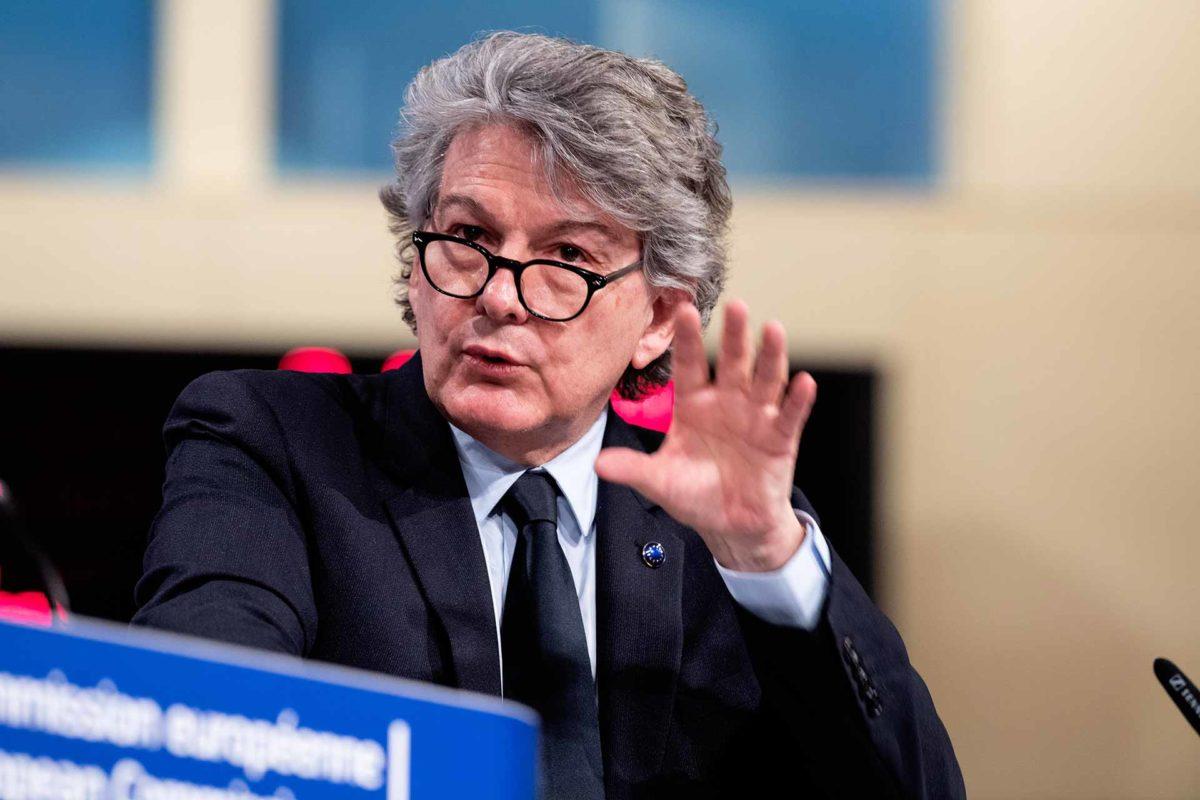 Thierry Breton, EU Commissioner for Internal Market