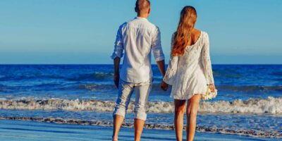 Summer-Sea Beach couple Summer-LOVE